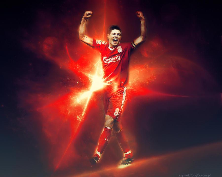 Steven Gerrard by szymeks