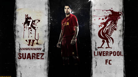 Luis Suarez Liverpool FC 2012/2013 WARRIOR HD