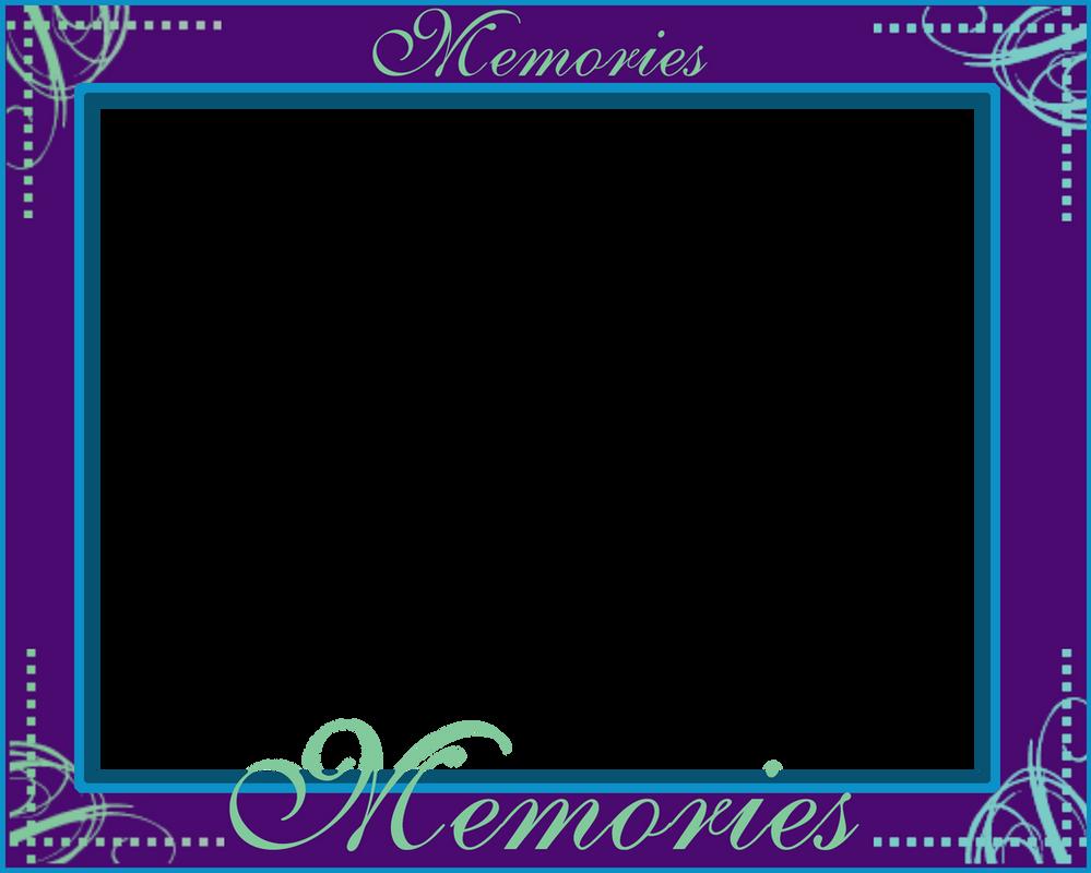 Memories 8x10 PNG Frame by BlissfuLLimaging on DeviantArt