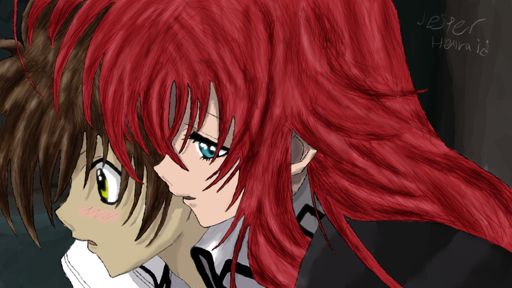 The gallery for --> Rias Gremory Face