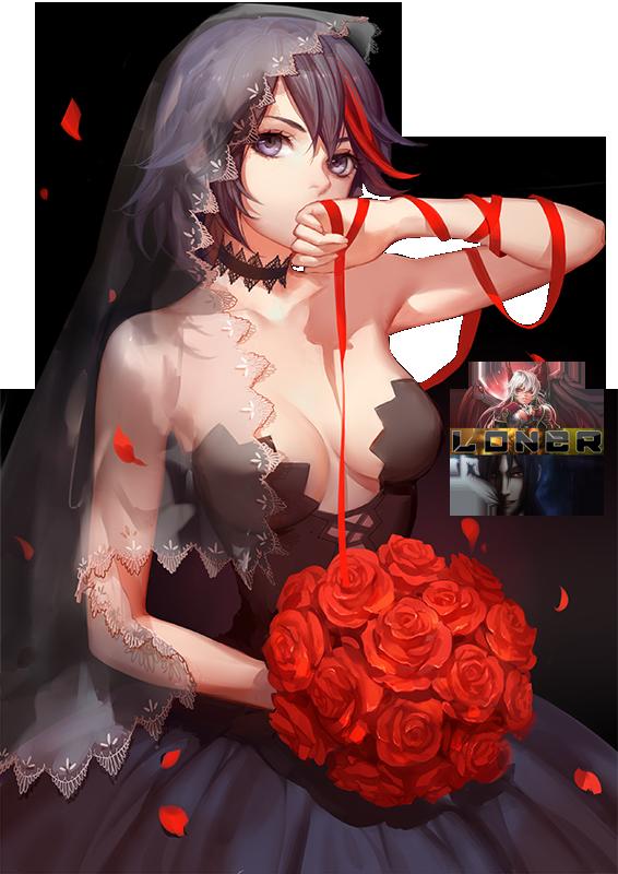[Render]Kill la kill - Ryuko Matoi[Kiryuin] by DamnPotatoes
