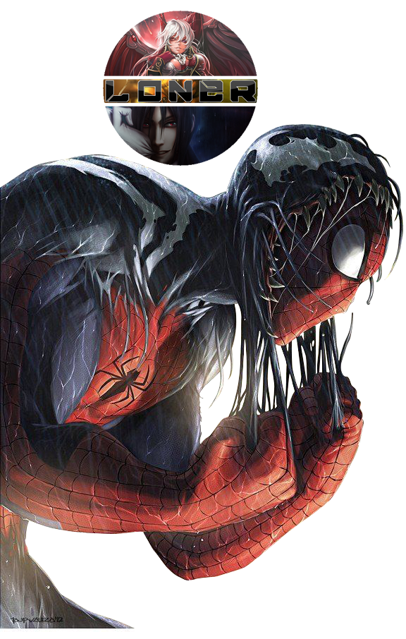 [Render]Spiderman - SpiderVenom by DamnPotatoes
