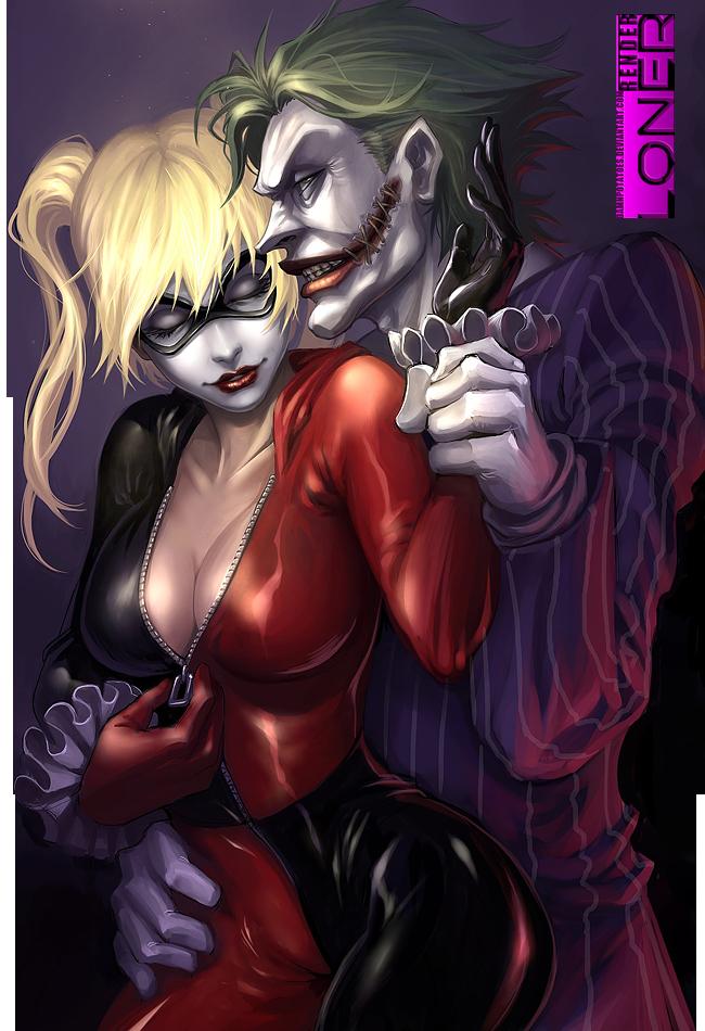 Render Batman Harley And Joker By Damnpotatoes On Deviantart