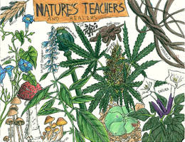 Nature's Teachers and healers by TriadFox