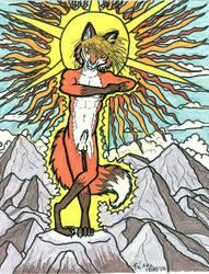 Sun God by TriadFox