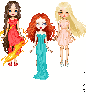 More Hunger Games Girls by Mrs-Odair-Mellark