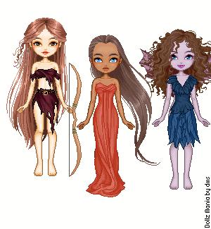 Greek Goddesses2 by Mrs-Odair-Mellark
