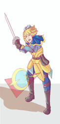 Princess Thressa by LegibleGrub