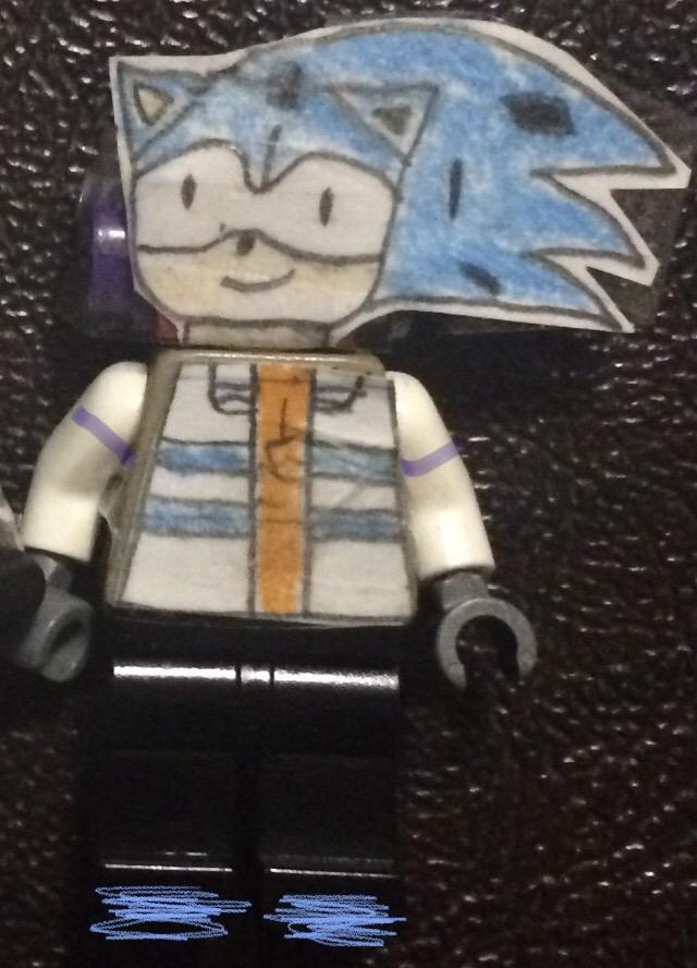 Archie-Sonic X (LEGO minifigure)