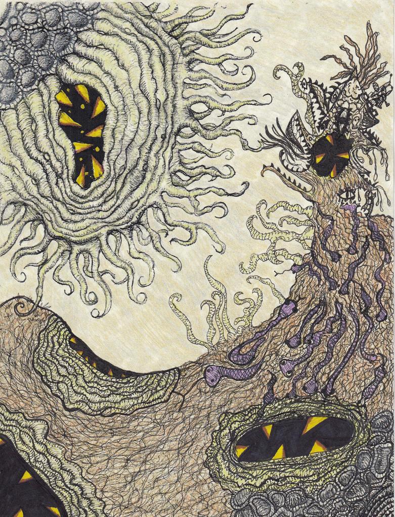 ocean floor collab with oludeniz by crazyruthie