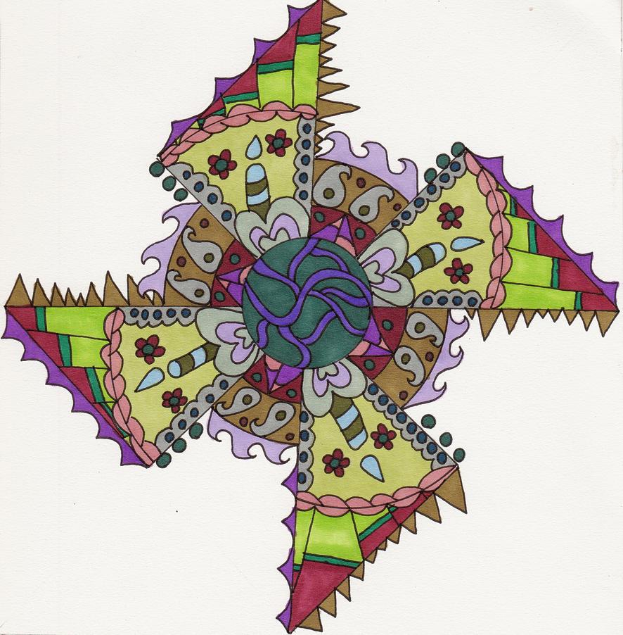 The Candlelit Mandala By Crazyruthie