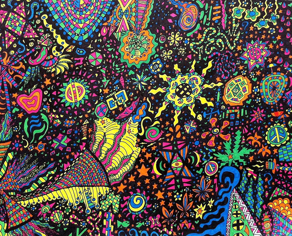 Neon Sharpies Revisited by crazyruthie on DeviantArt