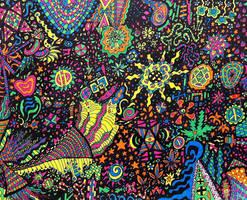Neon Sharpies Revisited by crazyruthie