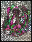 Swirly Artists' Secret Garden Contest Entry by crazyruthie