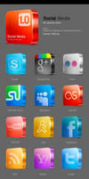 Candy media icons