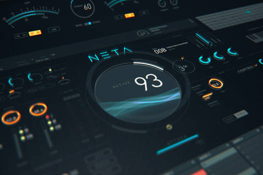 NETA: Modern virtual instrument UI Kit