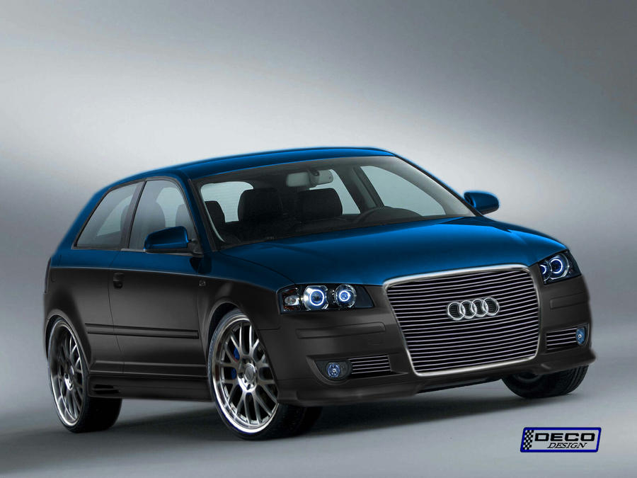 audi a3 tuning by dcdeco on deviantart. Black Bedroom Furniture Sets. Home Design Ideas