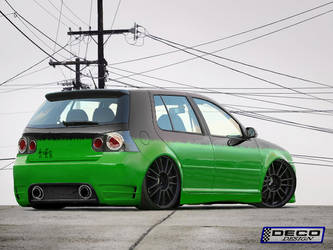VW Golf GT Tuning by DCdeco