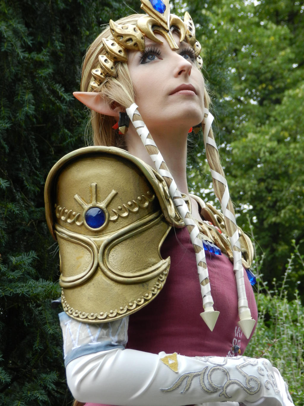 Twilight Princess Zelda (First Look) by CelestialExploring