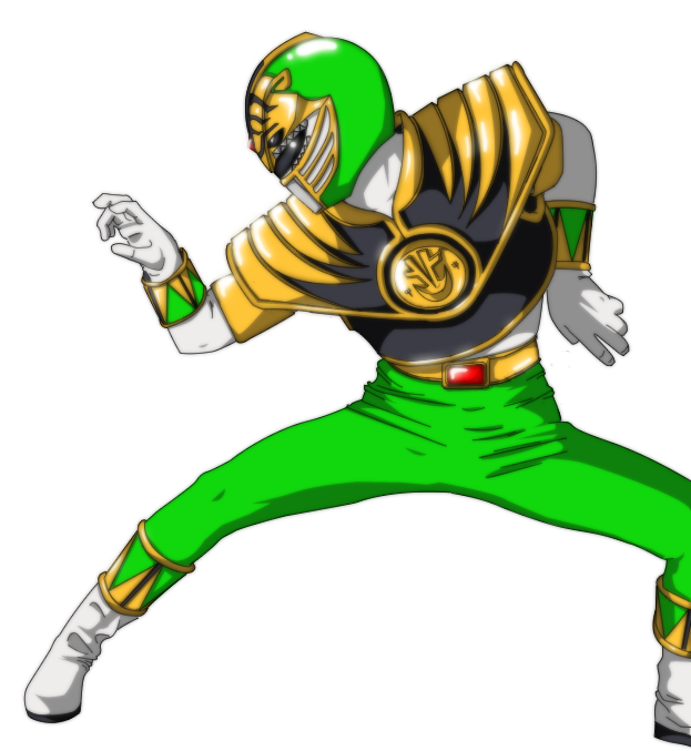 Green And White Ranger Wallpaper