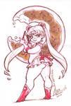 InkTober 05 - Sailor Chubby Moon