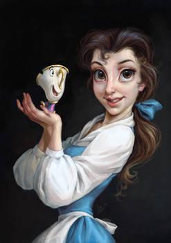 Disney Coloring Page: Belle