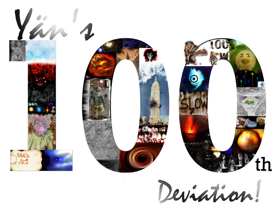 My 100th Deviation by YaensArt