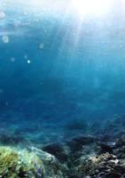 Underwater Stock - Premade Background 2 by YaensArt