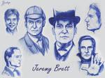 Jeremy Brett - Doodles