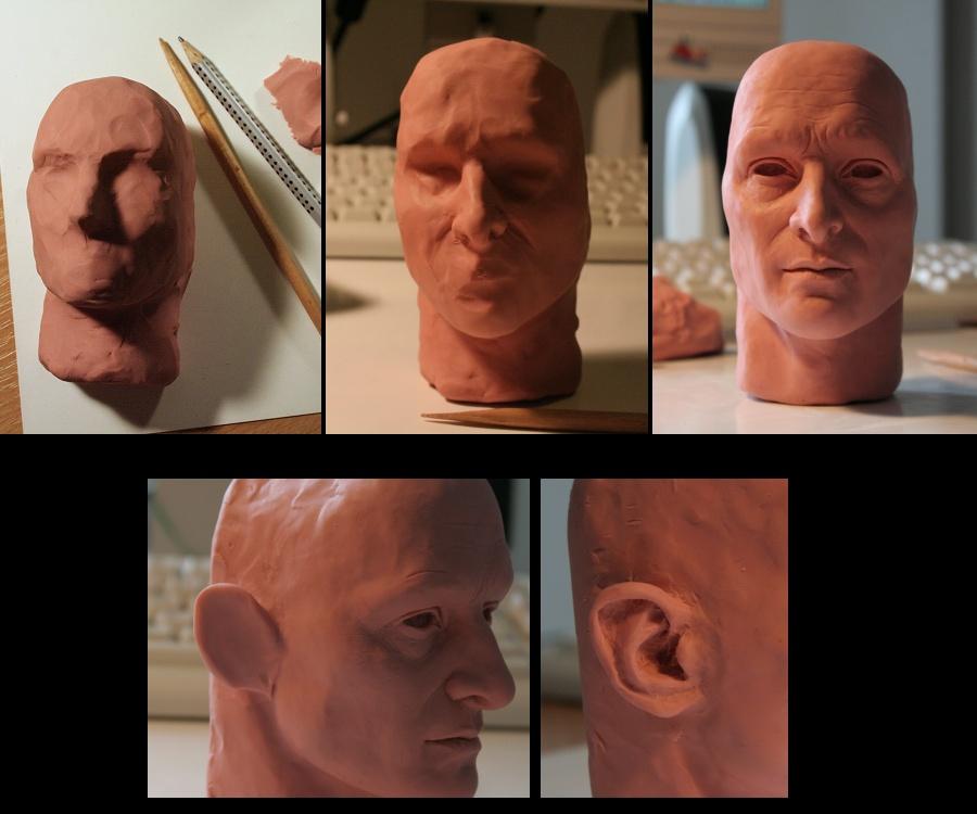 Sculpture Tutorial - 3 by Lenka-Slukova