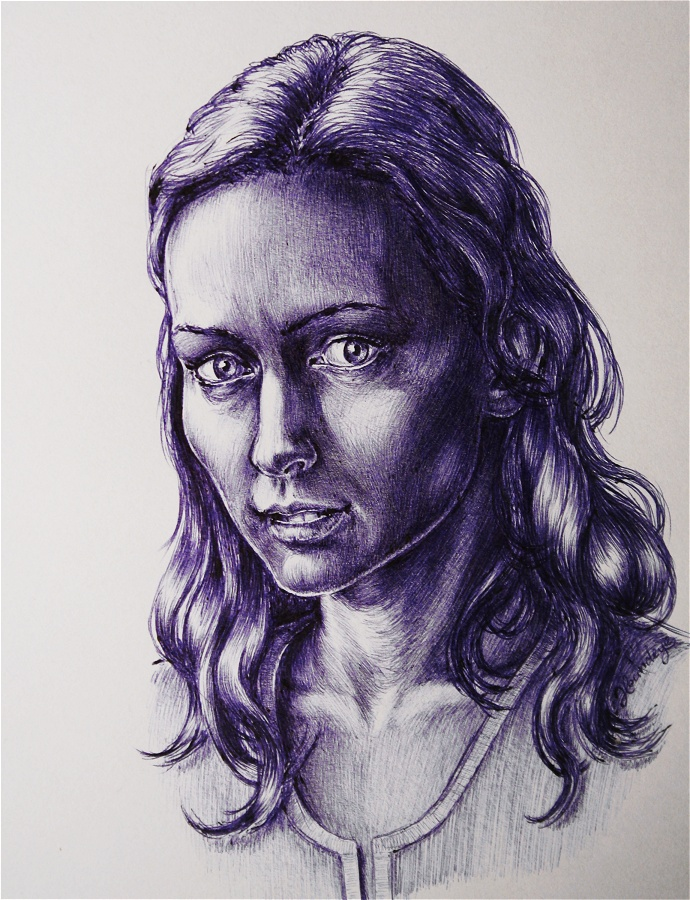 Amy Acker by Lenka-Slukova