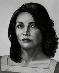 Shohreh Aghdashloo by Lenka-Slukova