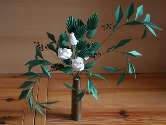 Origami Roses by Lenka-Slukova