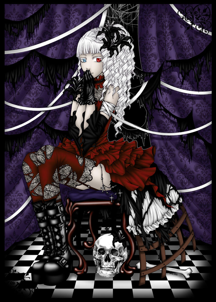 Lucienne - Black Lily by zero0810