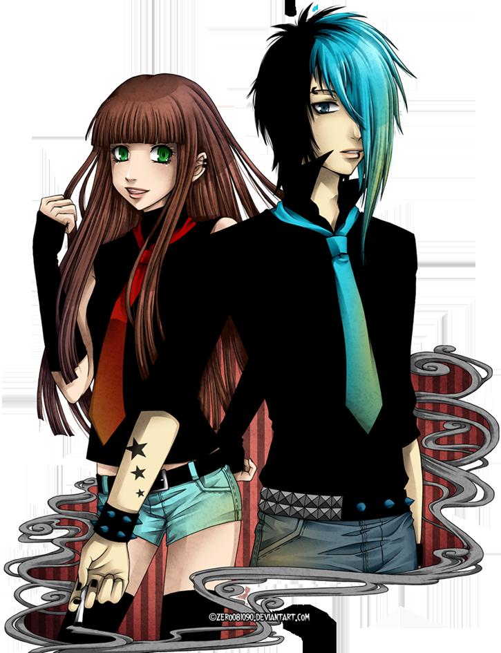 AT - Albert and Kazuko by zero0810