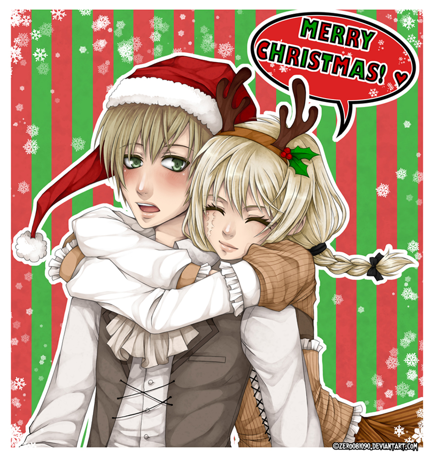 ET - The Couple XMAS Gift December Event by zero0810