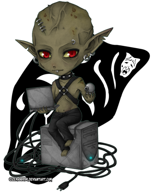 VtM - chibi_Clan Nosferatu by zero0810
