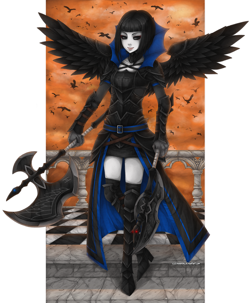 Crow Mistress by zero081090