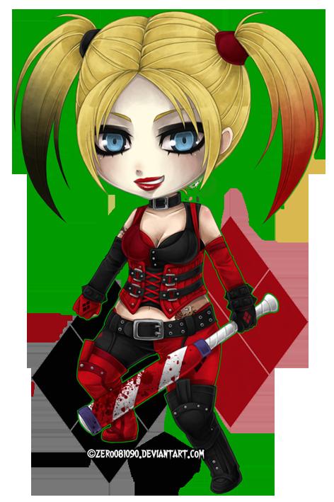 Harley Quinn chibi by zero0810