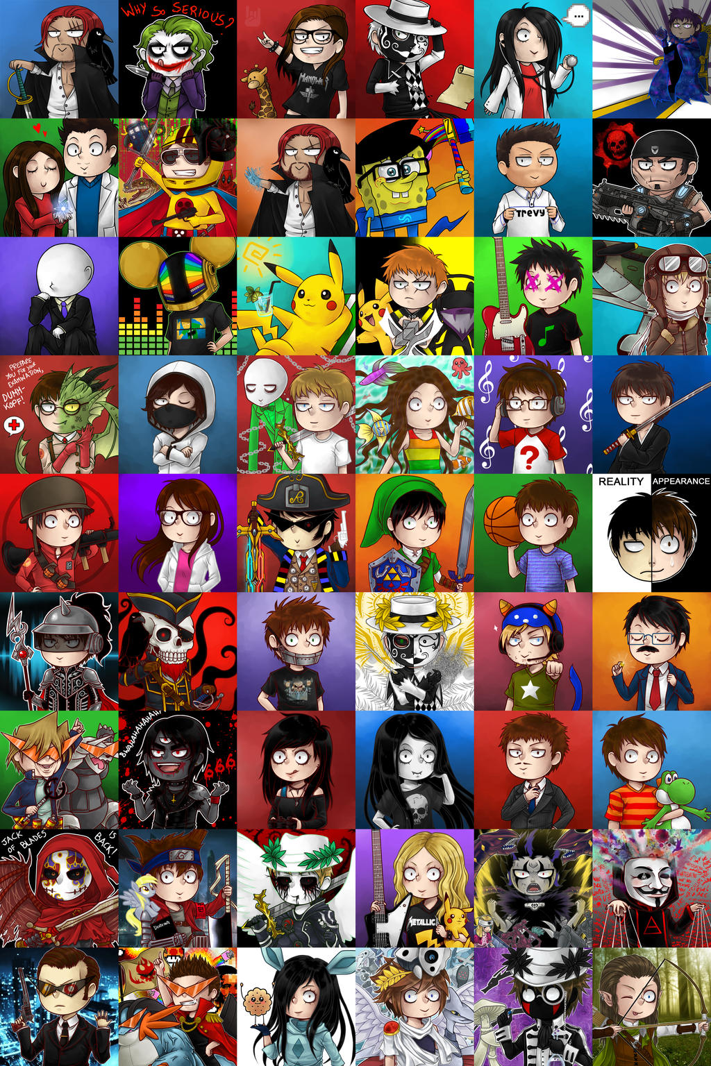 Crappy Chibi Compilation by zero0810