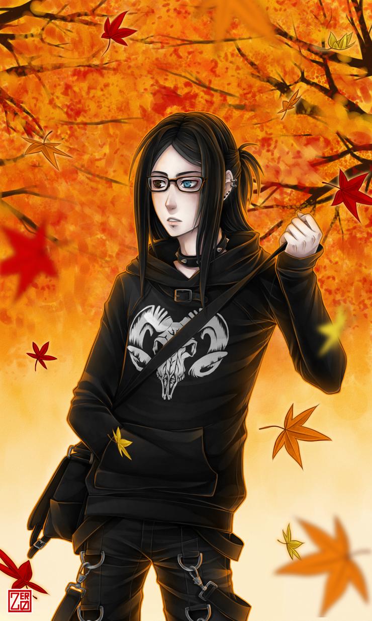 Falling Leaves by zero0810