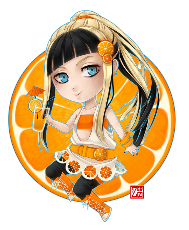 Orange chibi by zero0810