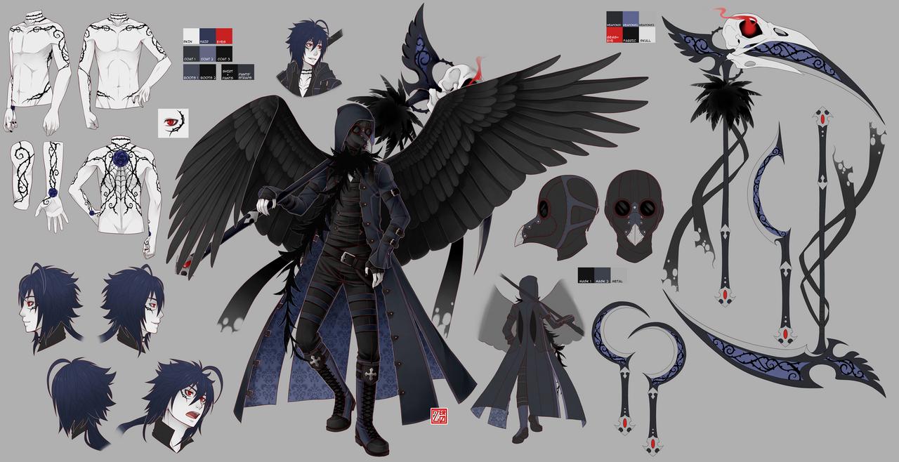 Wraith - ref sheet by zero0810