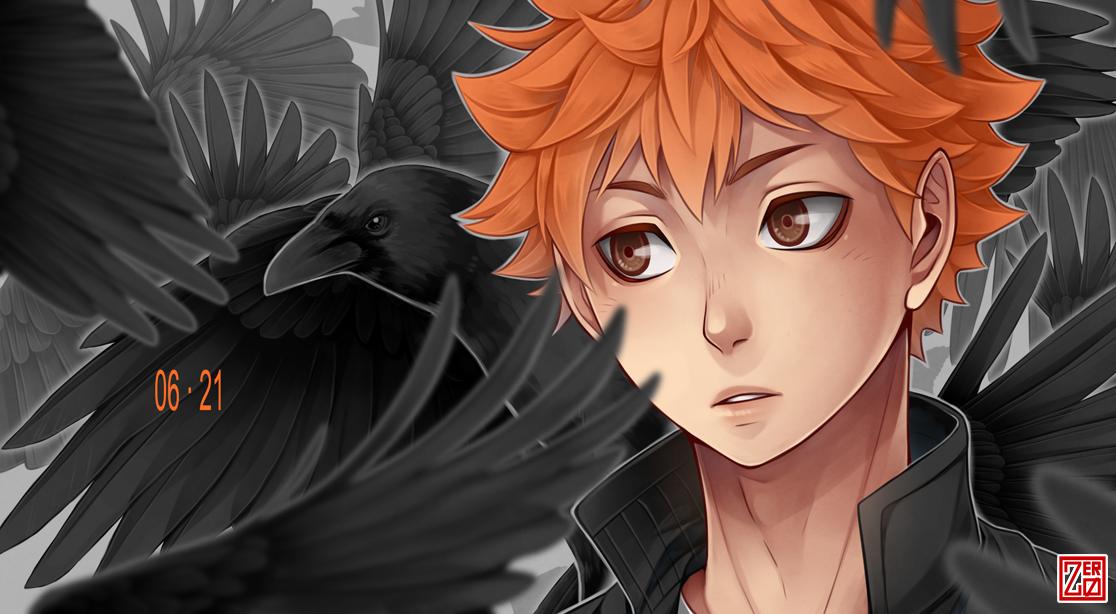 Haikyuu!! - baby crow by zero0810
