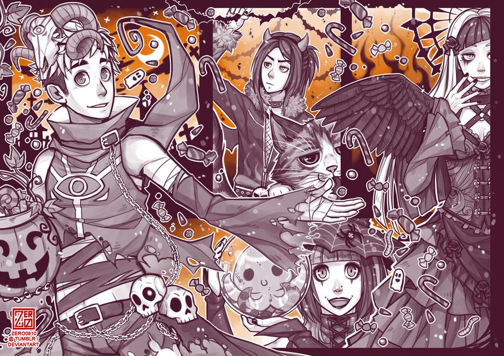 Halloween '17 by zero0810