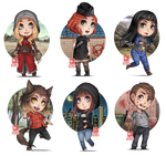 PR - chibi batch (Nov-Dec) by zero0810
