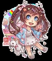 C - candy girl chibi by zero0810