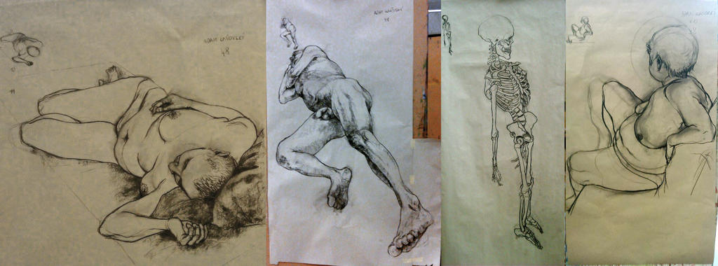 figural drawing practice by kanovsky