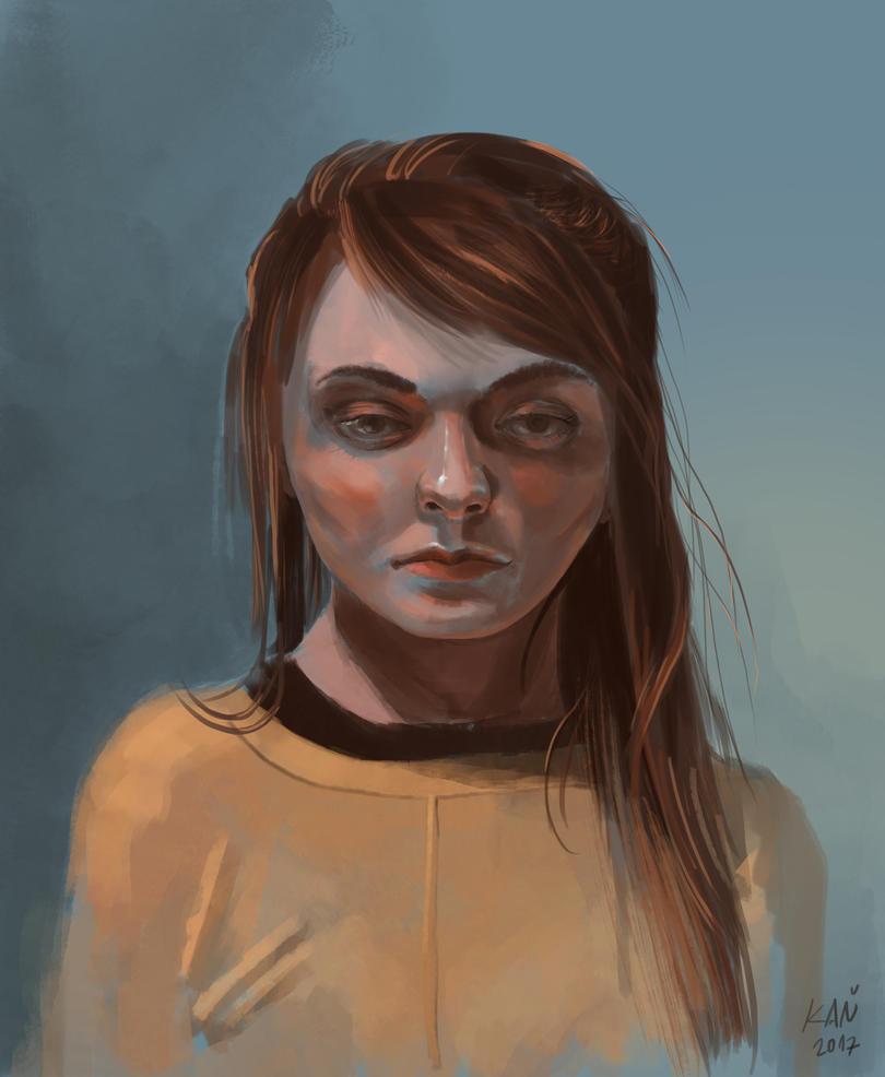 portrait by kanovsky