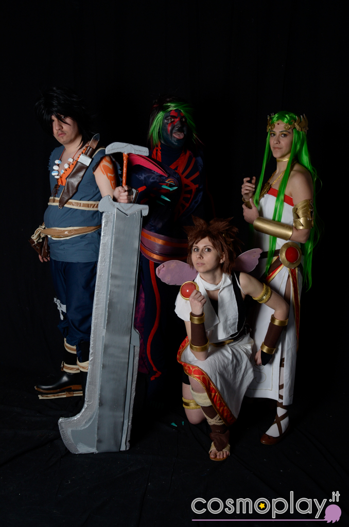 Kid Icarus Uprise By K Uroma On Deviantart Nintendo S Uprising Cosplayer